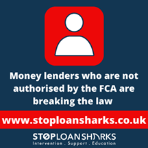 Loan shark warning