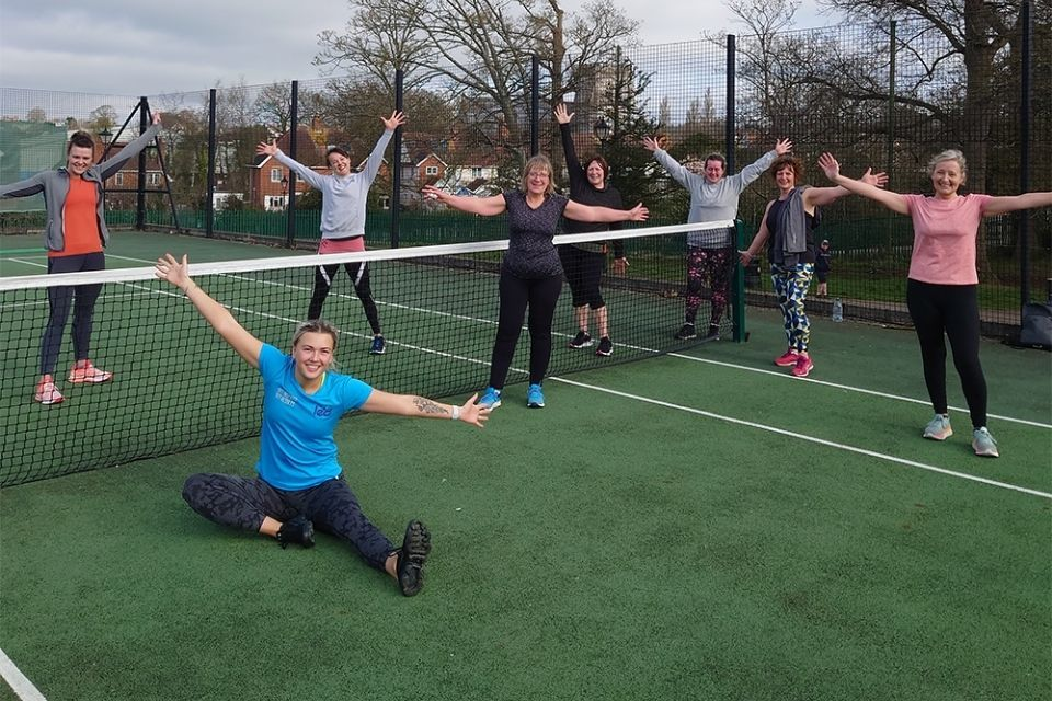 LED courts reopen