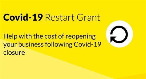 Covid restart grant