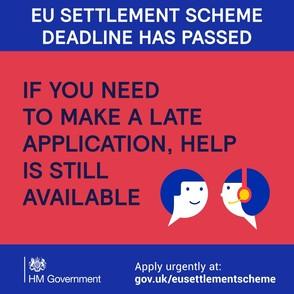 EU settlement scheme logo