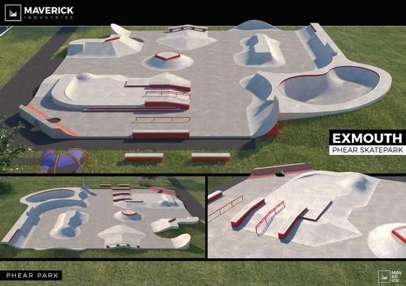 Exmouth skate park design 2