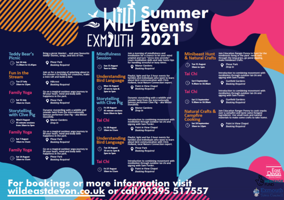 Wild Exmouth summer events