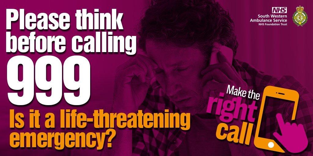 Please think before calling
