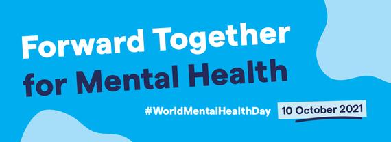 world mental health day 2021 banner