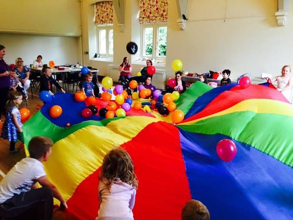 RAPP parachute fun