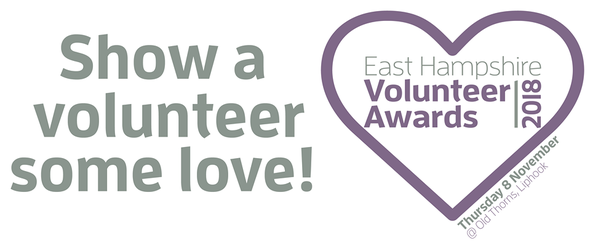 Show a volunteer some love!