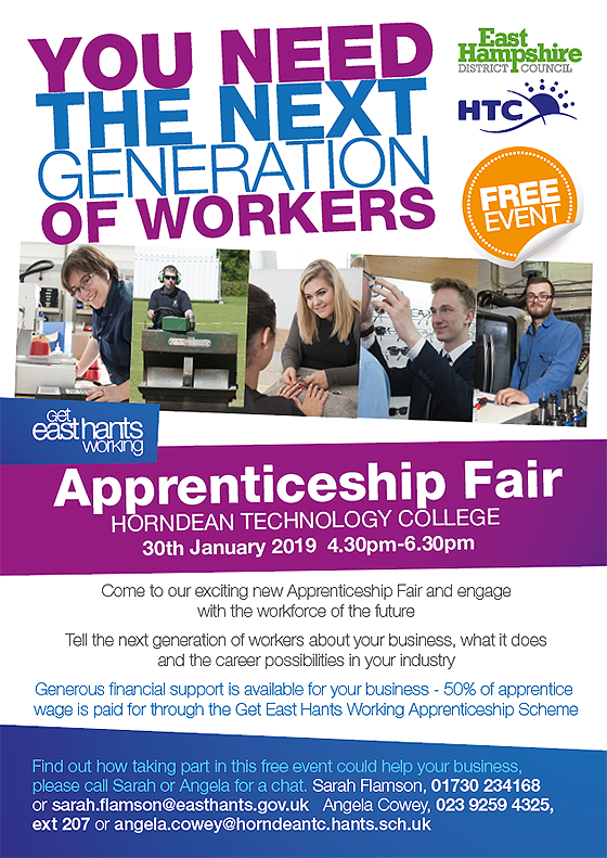 Apprenticeship fair 2019