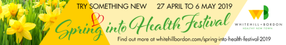Spring Into Health banner
