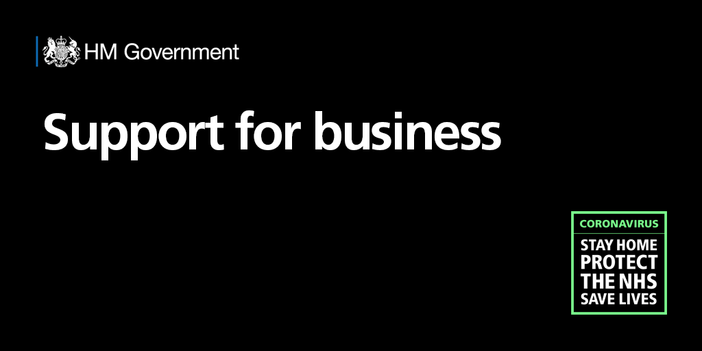 HM Government support for business