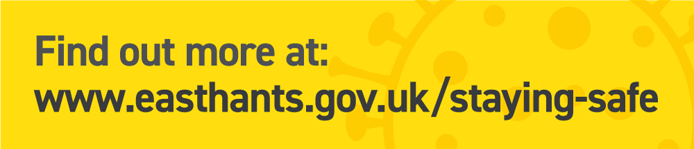 Find out more at: www.easthants.gov.uk/staying-safe