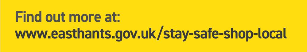Stay-safe-shop-local website link