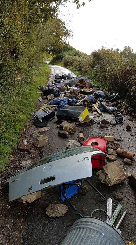 Catherington fly tip