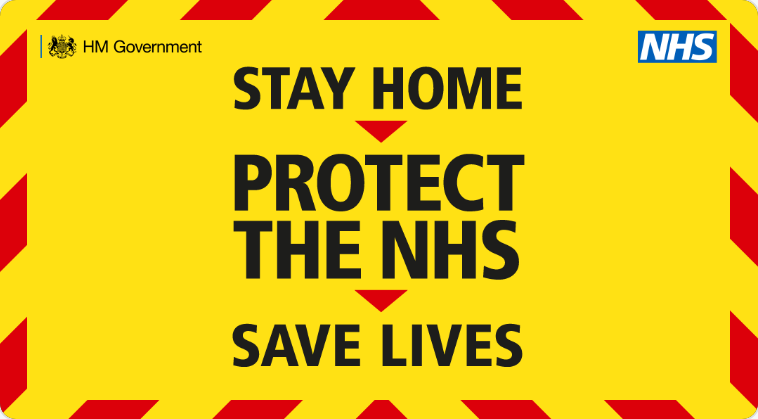 NHS - Stay home