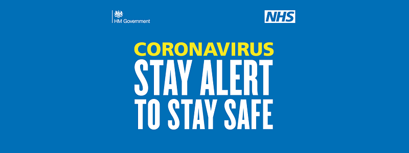 Coronavirus - stay alert to stay safe