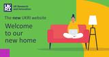 new UKRI website