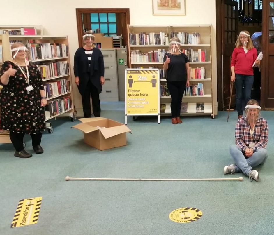 Bev Library Staff Cropped