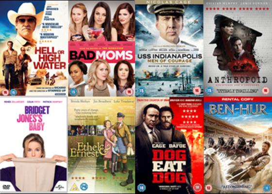Feb DVDs