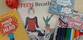 Contents of teen wellbeing bag