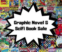 comic book sale poster