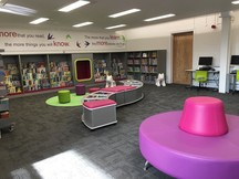 Children's area Lewes library