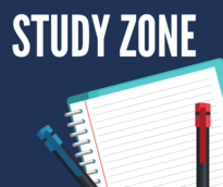 study zone poster