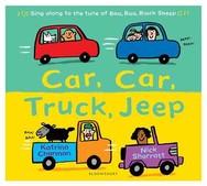 Car car truck jeep book cover