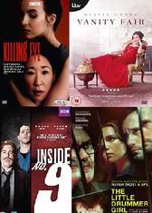 DVD covers BAFTA winners