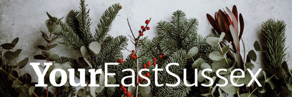 Christmas tree masthead of the newsletter.