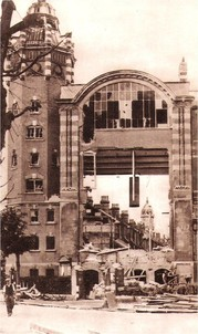 Eastbourne Library, bomb damage