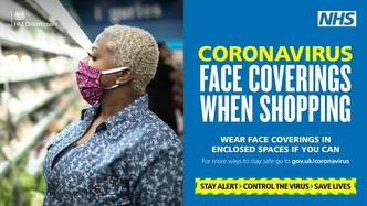 face coverings again