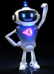 Super Sam mascot
