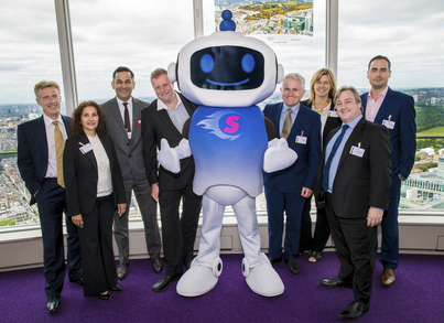 Superfast Essex, Super Sam and Openreach at the BT Tower following the signing of the new Phase 3 contract
