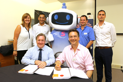 Superfast Essex, Super Sam, Gigaclear and BDUK marking the signing of the Phase 3 contracts