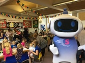 Super Sam at Maldon Library