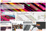 Superfast Essex website home page