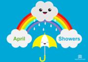 April showers image