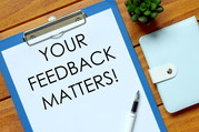 your feedback matters graphic