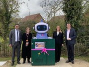 Gigaclear and Superfast Essex celebrate the first cabinet going live in Birchanger