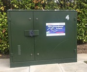 Openreach fibre cabinet