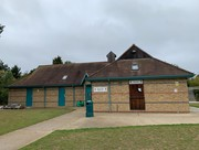 the pavilion at Beacon Hill Rovers Football Club