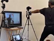 Christian holding a virtual fitness class