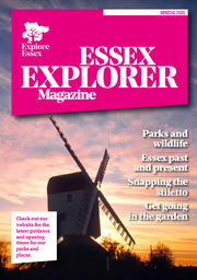 Front cover of Essex Explorer magazine
