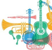 Montage of instruments