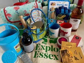 Various items in summer prize for Explore Essex competition