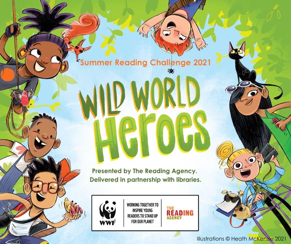 Summer reading challenge wild world heroes