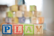 blocks spelling out play