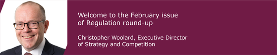 Christopher Woolard - February Banner