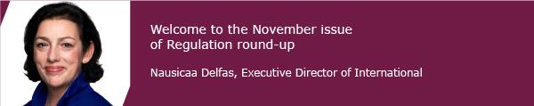 Nausicaa Delfas, Executive Director of International