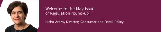 Nisha Arora, Director Consumer & Retail Policy