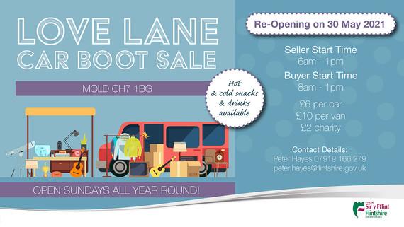 Love Lane car boot
